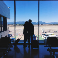 Love @ the Airport - Girona, Spain 2016   photo by Elena Mazzoni Wagner