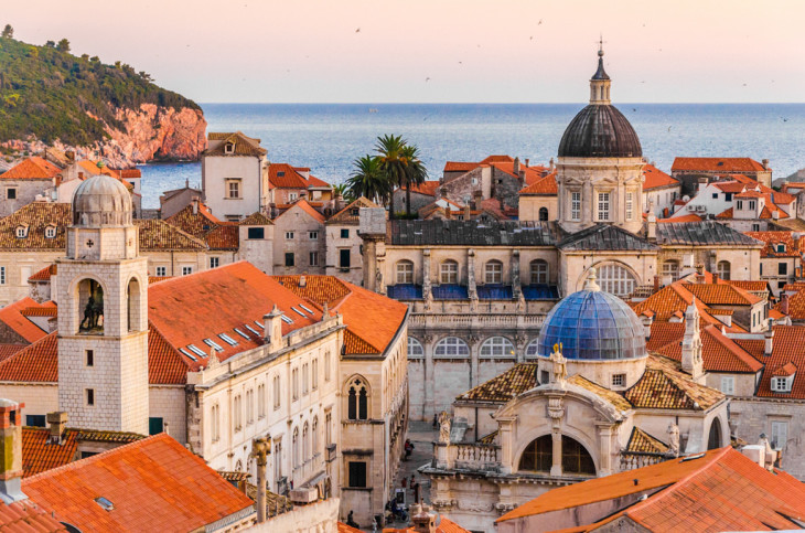 Dubrovnik Croatia - Sunset by Federica Gentile