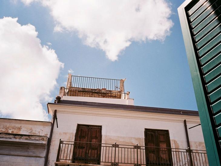 I balconcini dei palazzi di Palermo