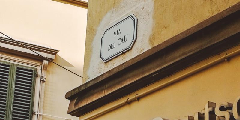 Via del Tau, Pistoia