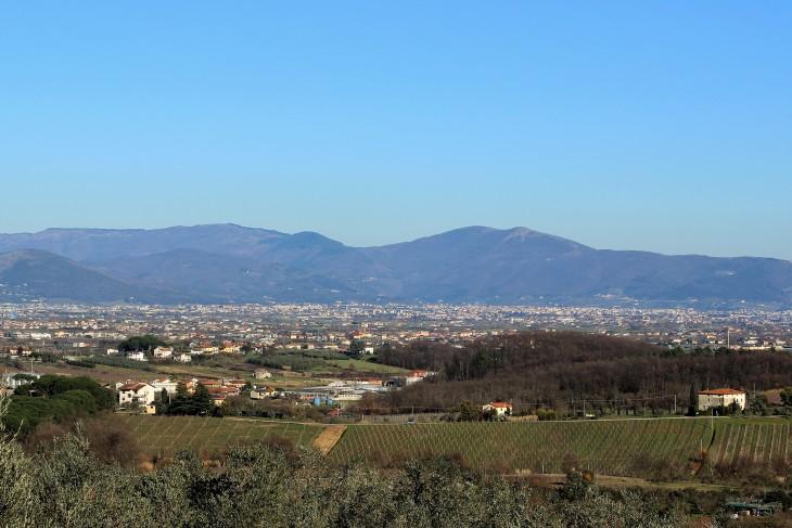 La piana Pistoia Prato Firenze