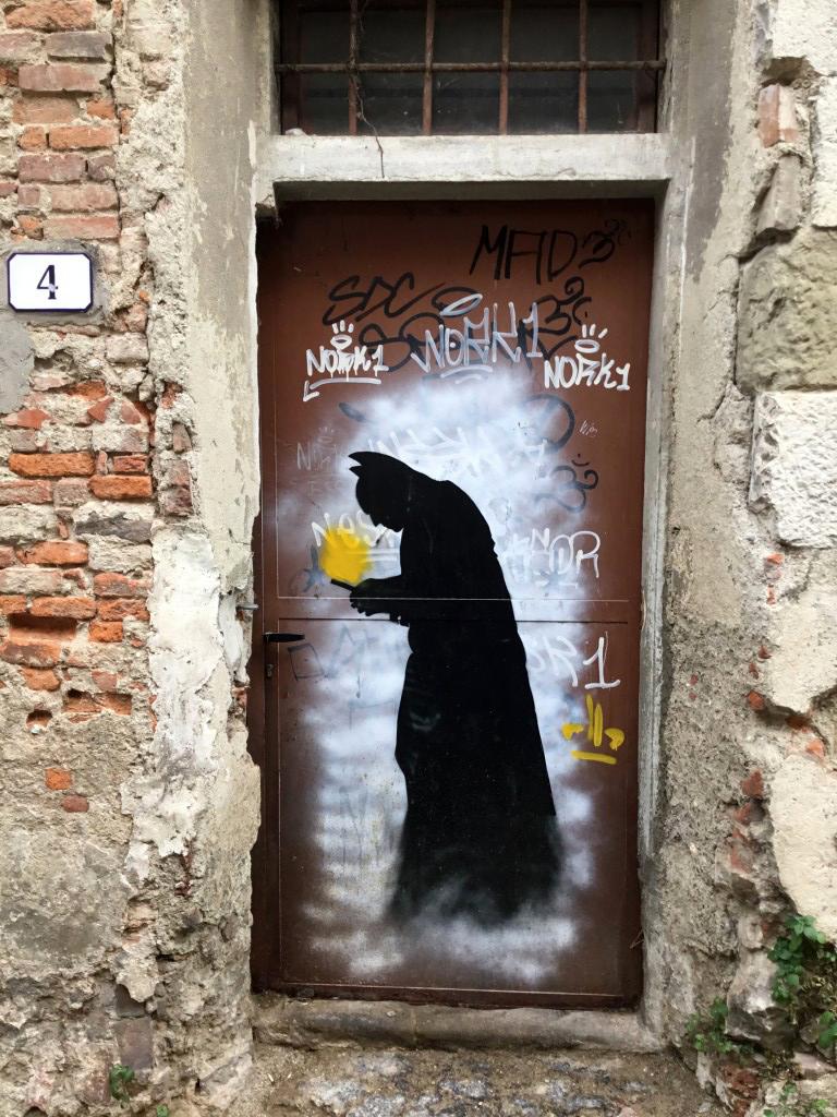 Pistoia - Sdrucciolo del Castellare - Street Art - LDB