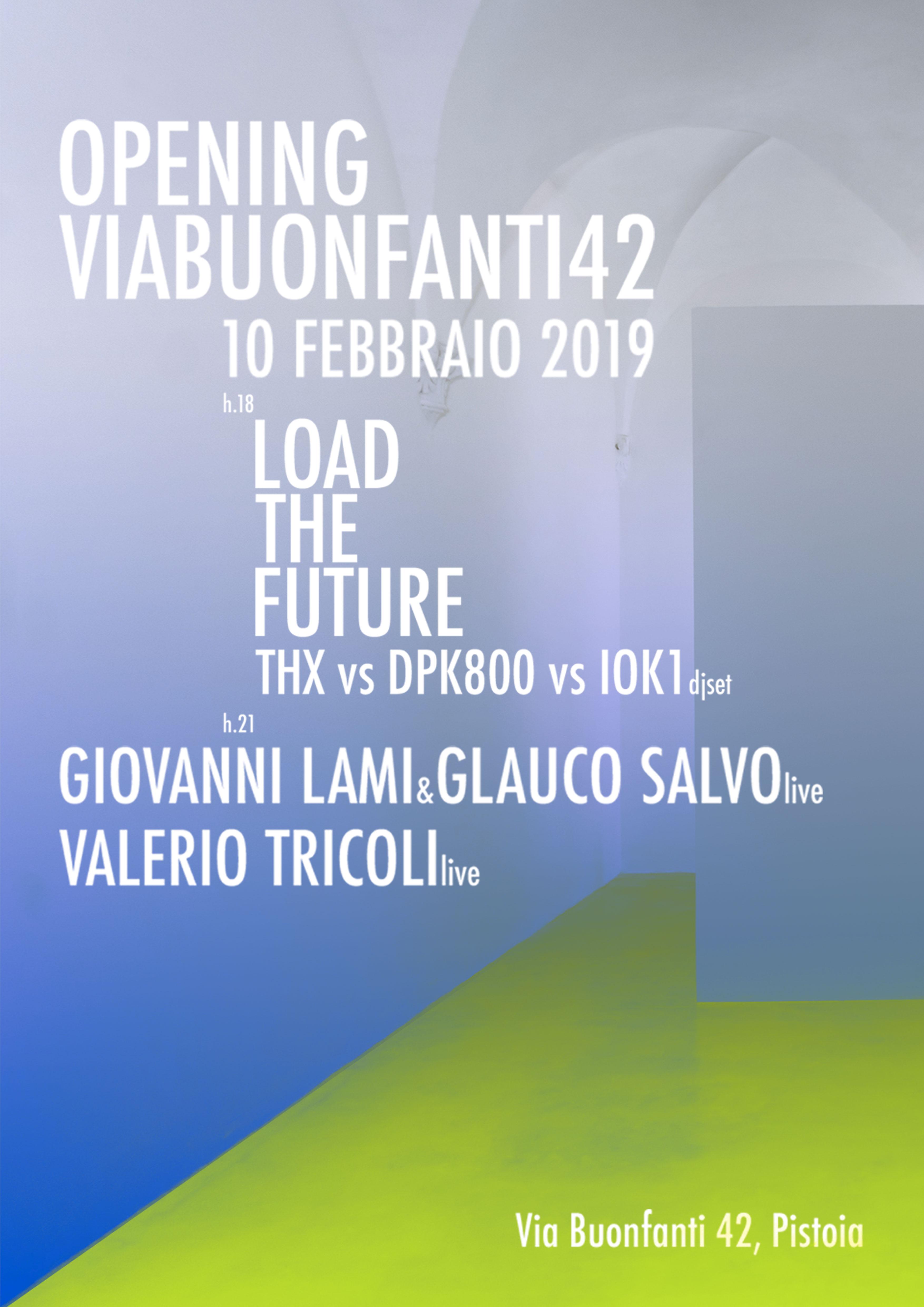Viabuonfanti42-opening2019-locandina
