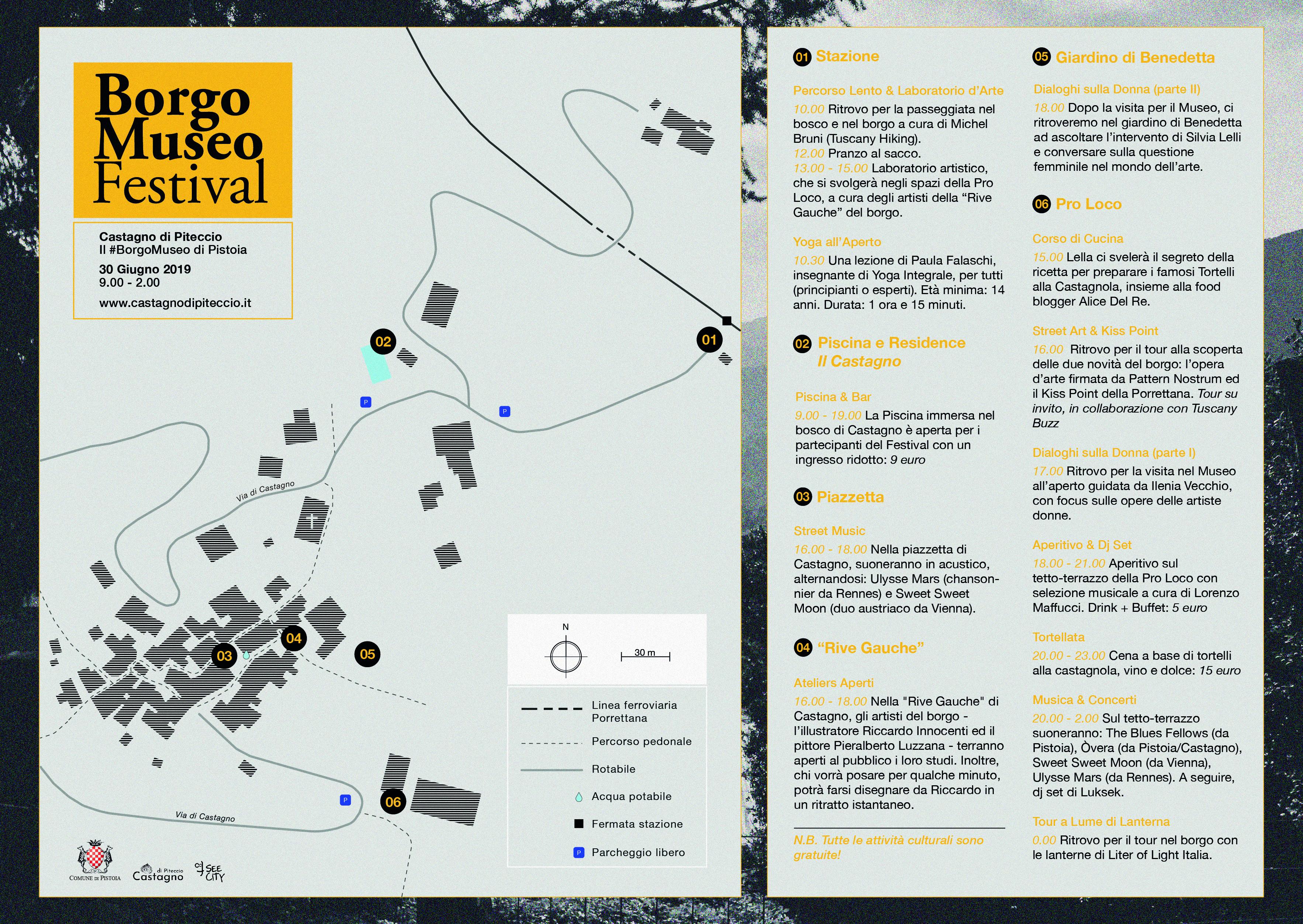Borgo Museo Festival 2019 MAPPA